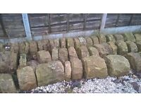 Dry Stone Wall Capping Stones