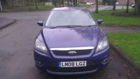 Ford Focus 1.6 TDCi DPF Zetec 5dr MIL 102548 £30 TAX VERY CLEAN IN/OUT