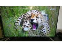 "Sharp 55"" 4k UHD Smart led tv with freeview"