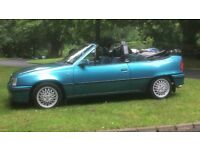 Vauxhall astra mk2 convertible 2.0 8v exclusive limited edition. Not gte gsi sri vxr