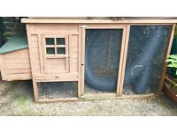 Large Rabbit hutch/chicken coup for sale