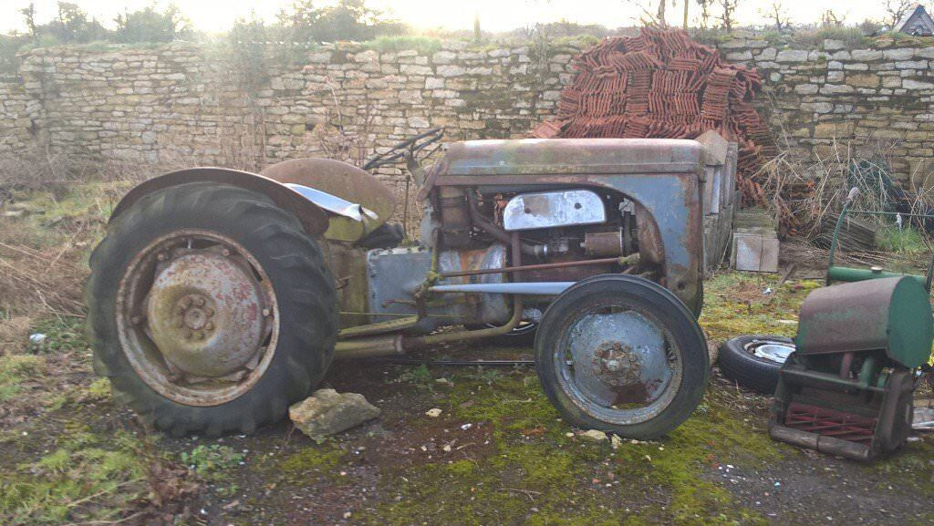 massey furgeson vintage project