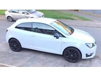 15 Plate Seat Ibiza FR Black Edition 1.4 140BHP. ONLY 7k miles.