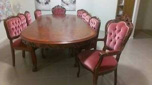Dining Table 8 Dining Chairs Cleveland Redland Area Preview