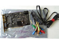 Creative Labs Soundblaster X-Fi Xtreme Gamer Fatal1ty Pro PCI sound card SB0460