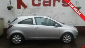 LOW MILES 2009 VAUXHALL CORSA 1.2 CLUB LOW INSURANCE