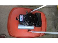 Flymo Petrol Hover mower in very clean good condition starts and runs superb just serviced new blade