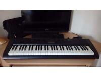 Casio 61 key keyboard plus 4x music books. great condition £35 ono