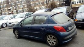 Peugeot 207 1.6 50000 miles breaking all parts