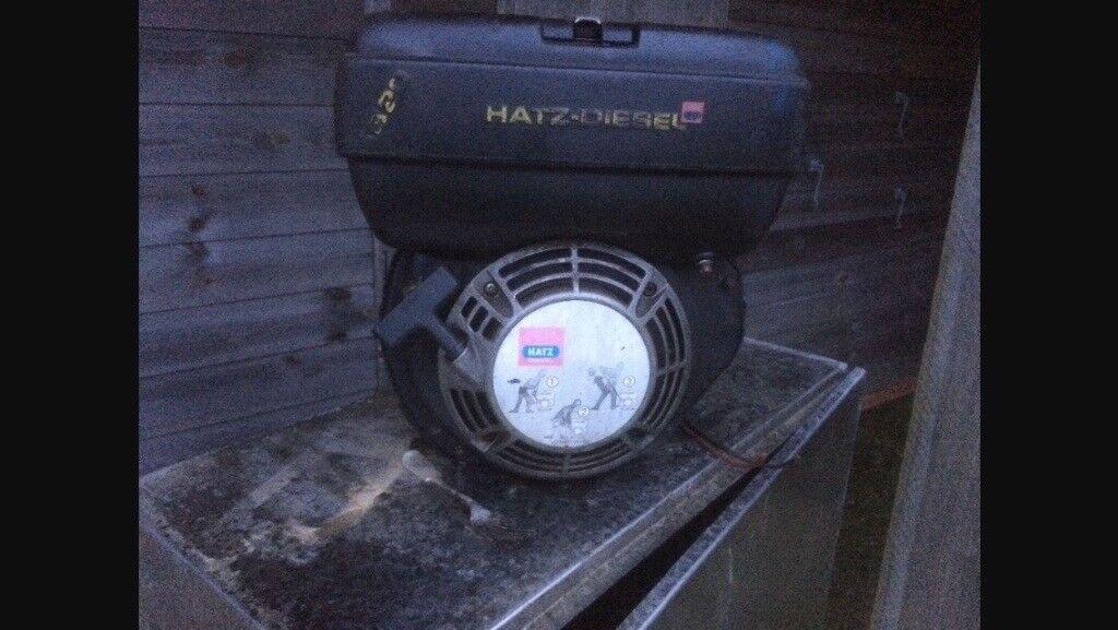 Hatz Diesel 1b20 Single Cylender Key Start Engine