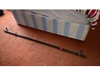 5ft Standard Barbell With Spring Clips & Collars