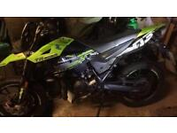 50cc supermoto, KSR TR 50, 1618 miles Collection only