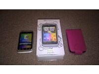 HTC Wildfire S mobile phone - boxed