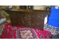 Chinese Altar Style Cabinet Excellent condition.