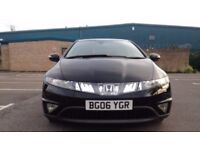 HONDA CIVIC 1.8i-VTEC 3dr Hatchback (2006) £2,395,00