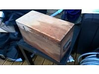 Small wood chest box 'GPO'