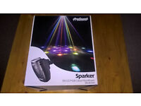 Pro sound disco lights with Fly controler