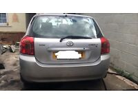 TOYOTA COROLLA 1.4 PETROL BREAKING FOR SPARES/REPAIRS