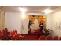 SMALL HALL FOR HIRE FOR CHURCH MEETINGS, TRAINING SESSIONS ETC