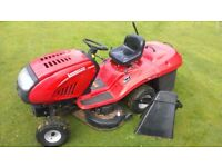 """LAWNFLITE (MTD) 903 AUTODRIVE LAWN TRACTOR COLLECTING MOWER. 41"""" CUT AND 15.5 HP BRIGGS AND STRATTON"""