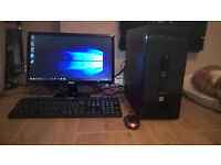 HP Prodesk home/business pc windows 10