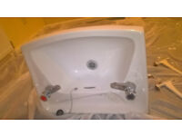 2 tap used sink 545 x 420mm