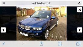 BMW X5 special edition lemans blue