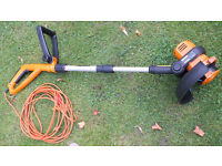 Worx WG112E mains electric grass strimmer good working condition £25
