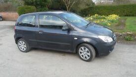 Hyundai Getz 1.1 GSI 3dr (Metallic grey) 2006(56). MOT till end of Sept