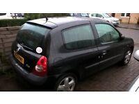 Renault clio 2002 hatchback 1.2L