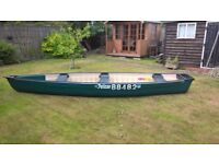 Coleman Pelican Bayou 160 Canoe Canadian not Old Town
