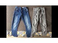 Boys Next Skinny Jeans Age 8 yrs VGC