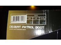 Combat/Desert Boots - Size 10