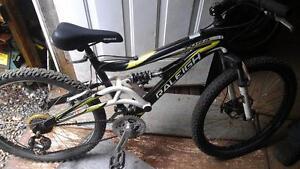 Vélo raleigh 24 pouces double suspension