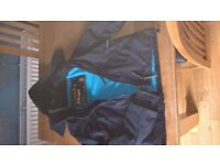 Navy Superdry Windcheater with blue liner size 'S'