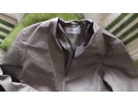 STOLEN HEART FAUX LEATHER EDGE TO EDGE JACKET SZ 18 (SELLING ON IDEAL WORLD)