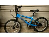 kids bike for sale to suit ages 6 to 9 approx.
