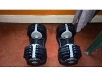 Mens Health Fitness Dial Dumbells 2.5kg-25kg Increments
