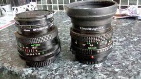2 camera lens