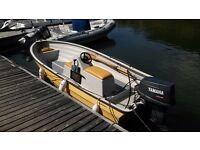 Bonwitco With 400 with 40hp Yamaha and trailer for sale