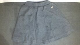 Gray - School Skirt - Size 6Y