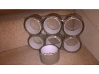 Brown Parcel Tape x 204 Rolls Reduced to £25 from £35