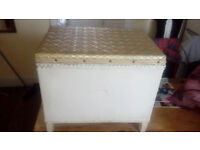 Small Storage Seat Ideal For UpCycling Project