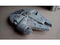 Star wars 'Millenium Falcon' plastic toy.