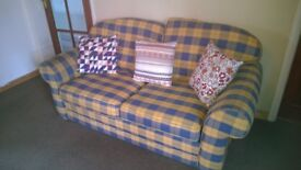 Two seater double sofa bed