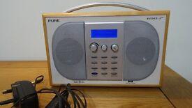 Pure Evoke- 2 Dab radio .In excellent condition.