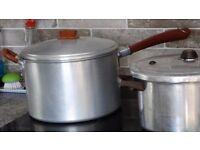 Preserving Pan and Pressure Cooker
