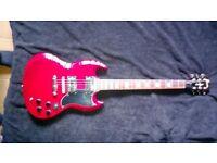 JHS GIBSON SG Guitar Brain Wilkinson special edition