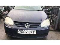 2007 VOLKSWAGEN GOLF S TDI (MANUAL DIESEL)