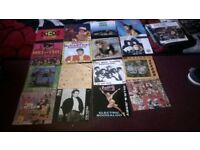 large collection of single records